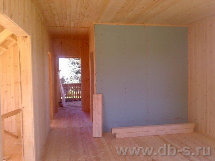 Строительство двухэтажного каркасного дома 10 на 8 Петушки, Владимирская область фото 27