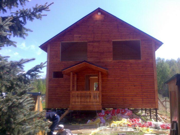 Строительство двухэтажного каркасного дома 10 на 8 Петушки, Владимирская область фото 28