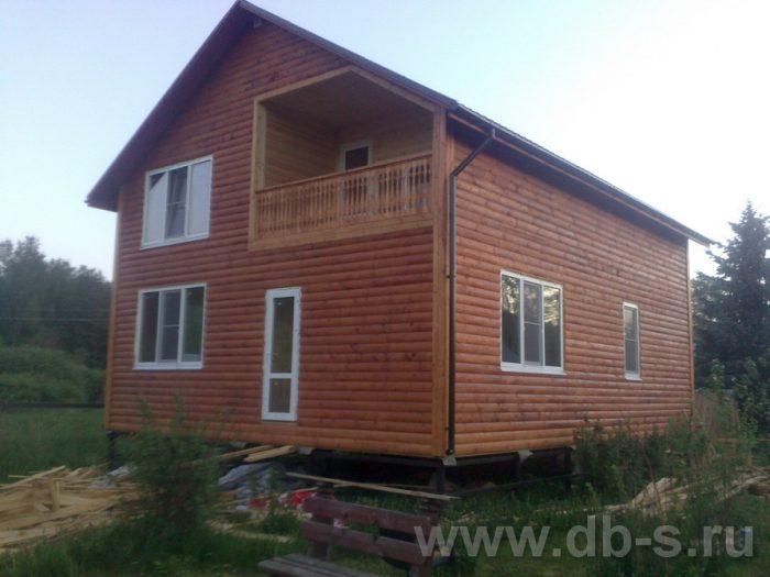 Строительство двухэтажного каркасного дома 10 на 8 Петушки, Владимирская область фото 30