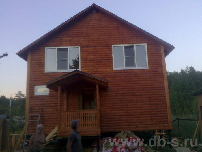 Строительство двухэтажного каркасного дома 10 на 8 Петушки, Владимирская область фото 31