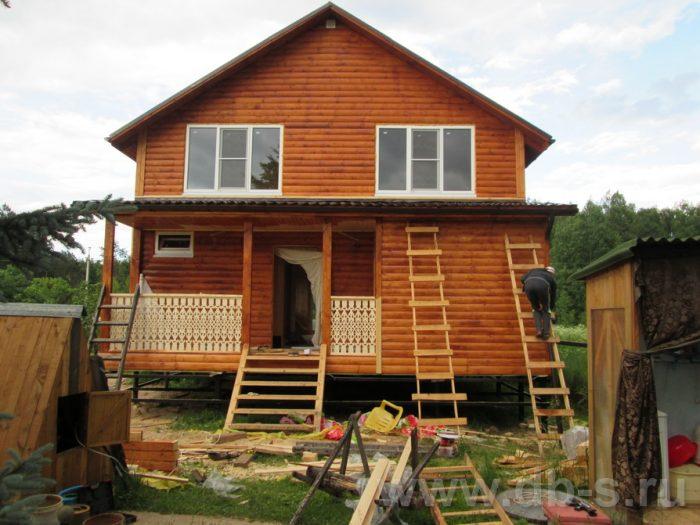 Строительство двухэтажного каркасного дома 10 на 8 Петушки, Владимирская область фото 32
