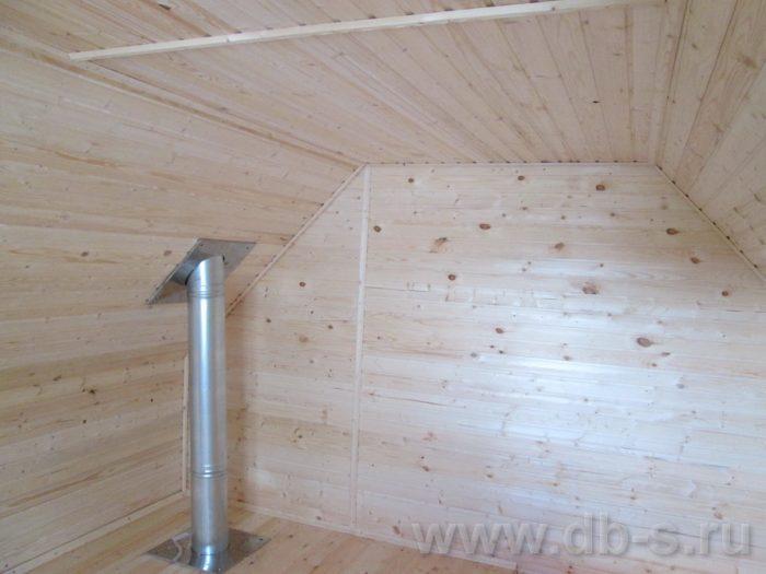Строительство бани из бруса с мансардой 6 на 4 Балашиха, Московская область фото 18