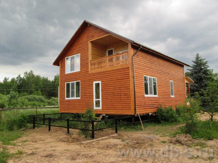 Строительство двухэтажного каркасного дома 10 на 8 Петушки, Владимирская область фото 35