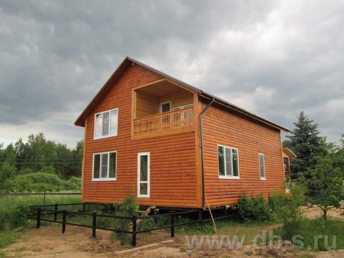 Строительство двухэтажного каркасного дома 10 на 8 Петушки, Владимирская область фото 1