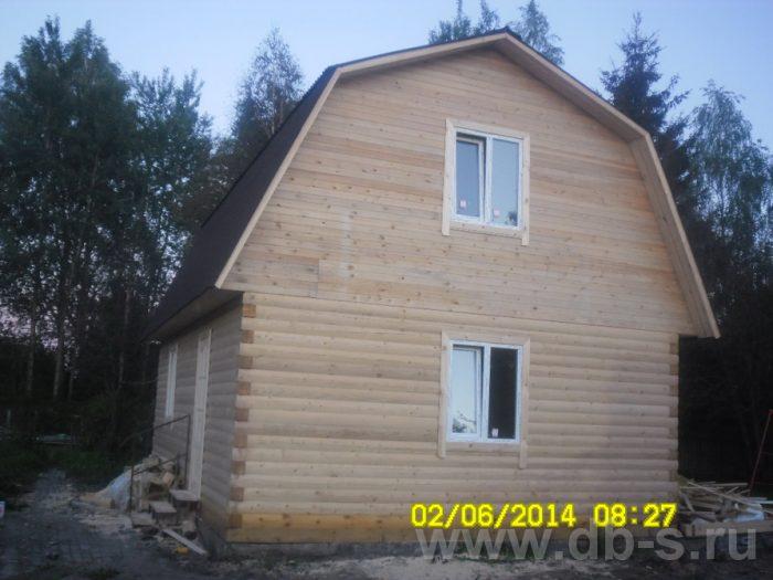 Строительство дома из бруса с мансардой 6 на 9 Королёв, Московская область фото 1
