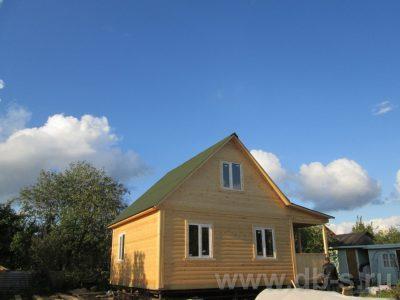 Строительство дома 6х8 г. Истра