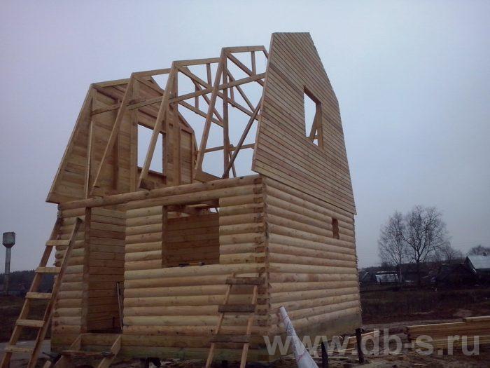 Строительство дома из бруса с мансардой 6 на 5 Фрязино, Московская область фото 4