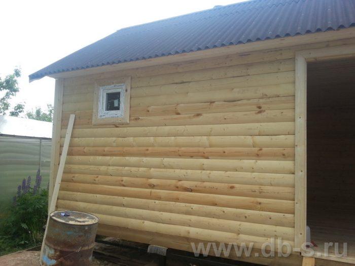 Строительство одноэтажной бани из бруса 6 на 4 Рыбинск, Ярославская область фото 17