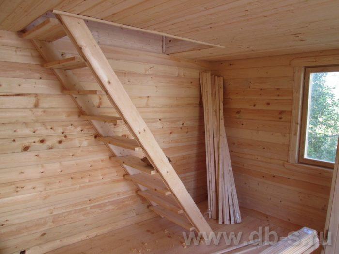 Строительство бани из бруса с мансардой 6 на 4 Балашиха, Московская область фото 22