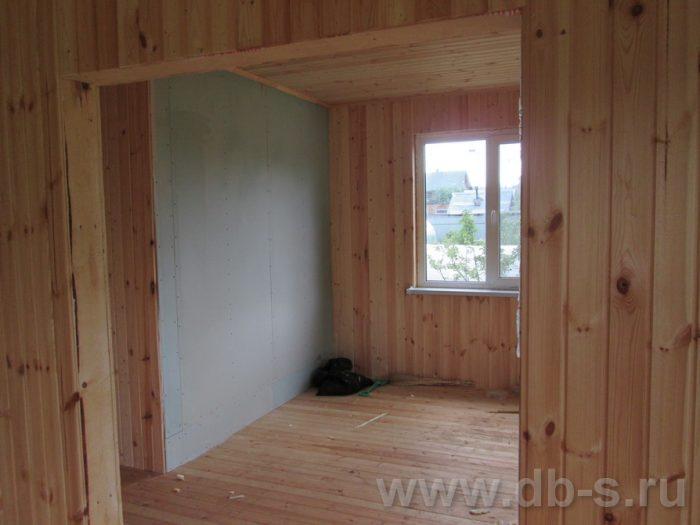 Строительство двухэтажного каркасного дома 10 на 8 Петушки, Владимирская область фото 39