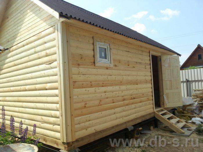 Строительство одноэтажной бани из бруса 6 на 4 Рыбинск, Ярославская область фото 20