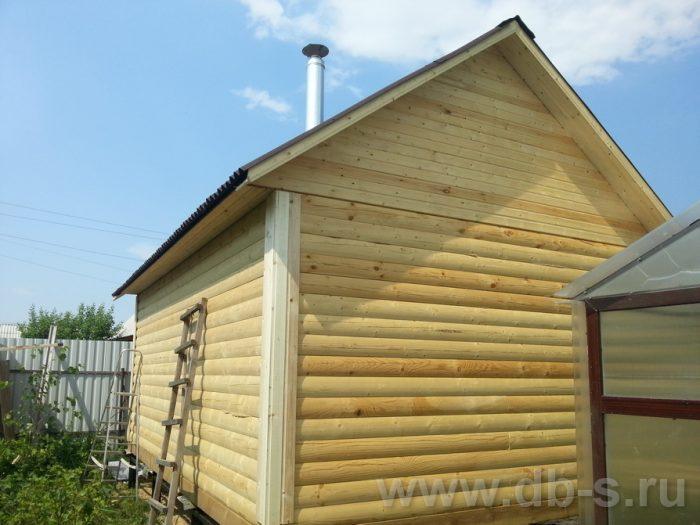 Строительство одноэтажной бани из бруса 6 на 4 Рыбинск, Ярославская область фото 21