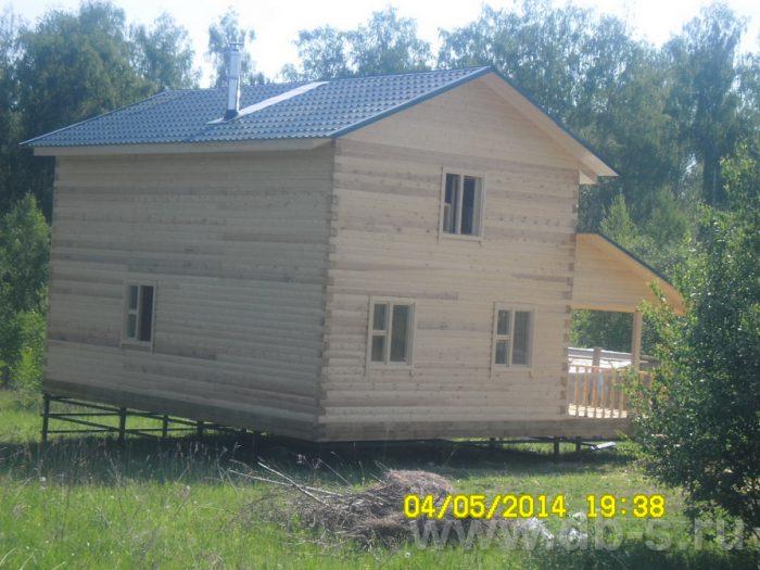 Строительство двухэтажного дома из бруса 9 на 9 Волхов, Ленинградская область фото 3