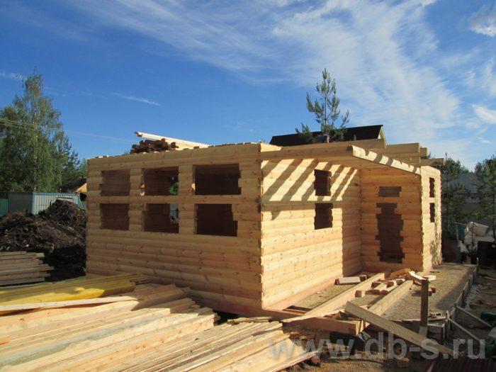 Строительство двухэтажного дома из бруса 8 на 6 Чехов, Московская область фото 4
