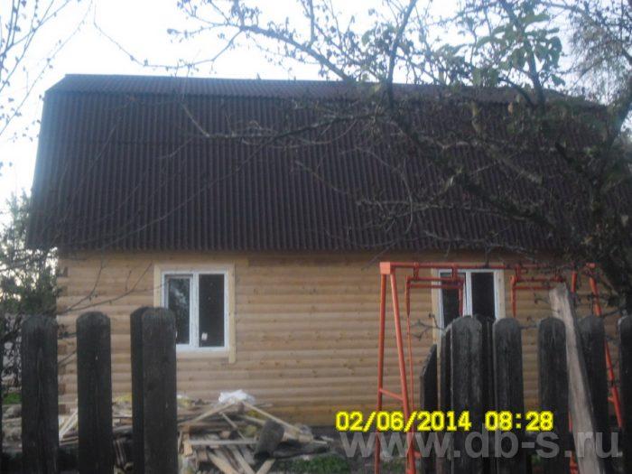 Строительство дома из бруса с мансардой 6 на 9 Королёв, Московская область фото 4