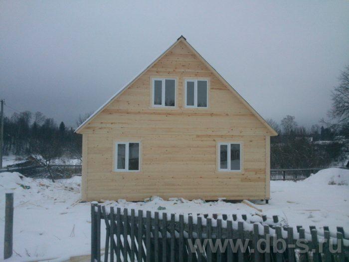 Строительство дома из бруса с мансардой 9 на 7.5 Электросталь, Московская область фото 1