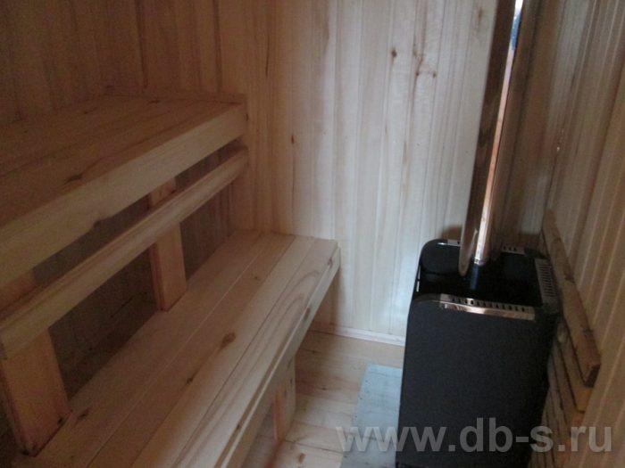 Строительство бани из бруса с мансардой 6 на 4 Балашиха, Московская область фото 29