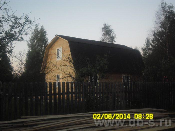 Строительство дома из бруса с мансардой 6 на 9 Королёв, Московская область фото 5