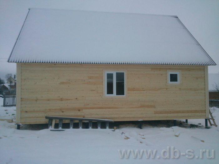 Строительство дома из бруса с мансардой 9 на 7.5 Электросталь, Московская область фото 4