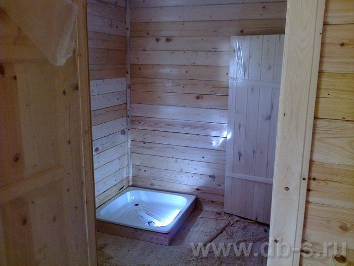 Строительство бани из бруса с мансардой 6 на 4 Домодедово, Московская область фото 45