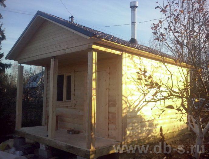Строительство одноэтажной бани из бруса 6 на 4 Жуковский, Московская область фото 7