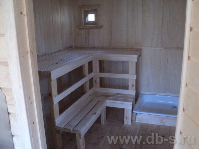Строительство одноэтажной бани из бруса 7 на 2,3 Балашиха, Московская область фото 7