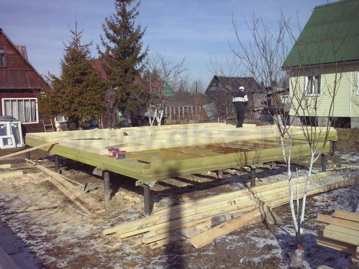 Строительство каркасного дома с мансардой 6 на 8 Апрелевка, Московская область фото 2