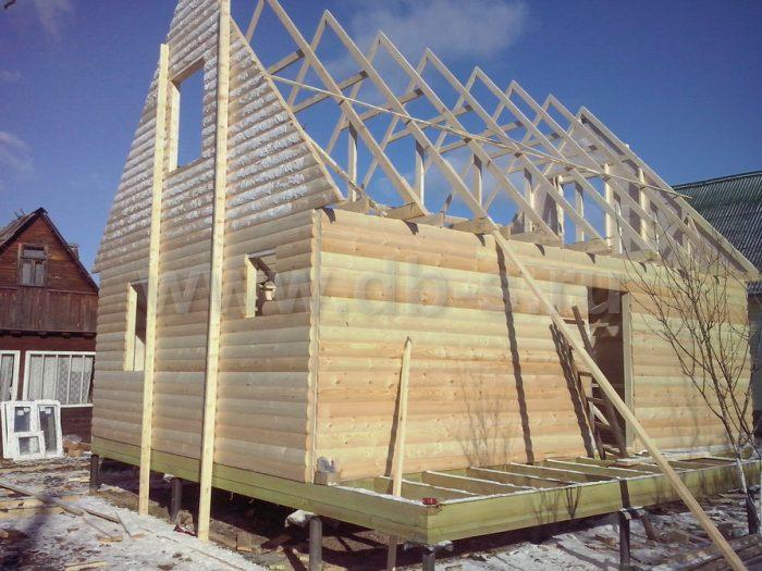 Строительство каркасного дома с мансардой 6 на 8 Апрелевка, Московская область фото 4