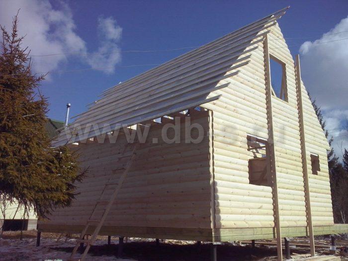 Строительство каркасного дома с мансардой 6 на 8 Апрелевка, Московская область фото 5