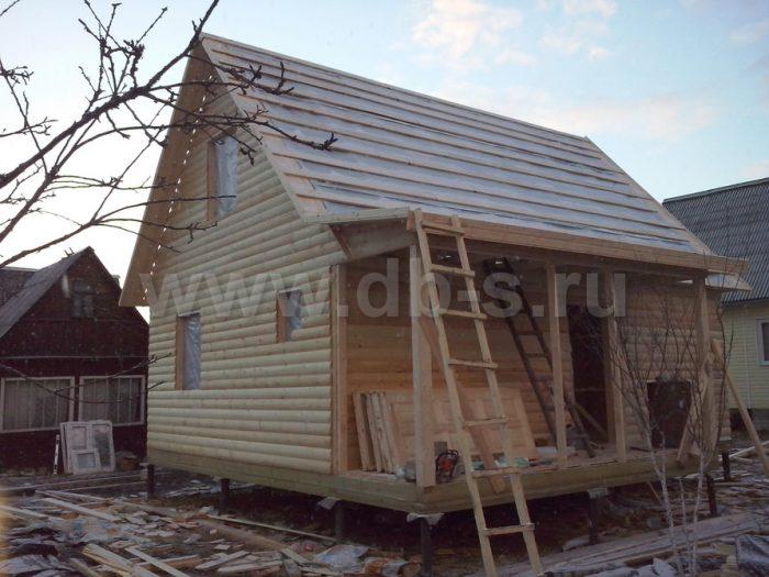 Строительство каркасного дома с мансардой 6 на 8 Апрелевка, Московская область фото 6