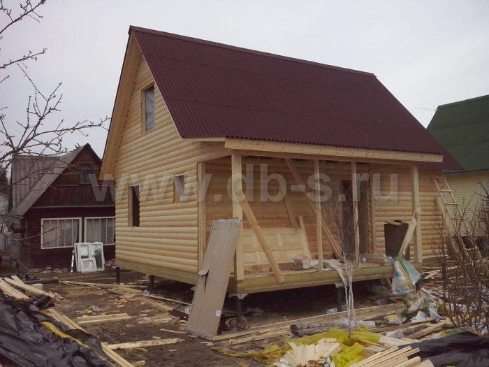Строительство каркасного дома с мансардой 6 на 8 Апрелевка, Московская область фото 7