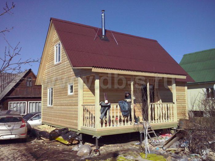 Строительство каркасного дома с мансардой 6 на 8 Апрелевка, Московская область фото 1