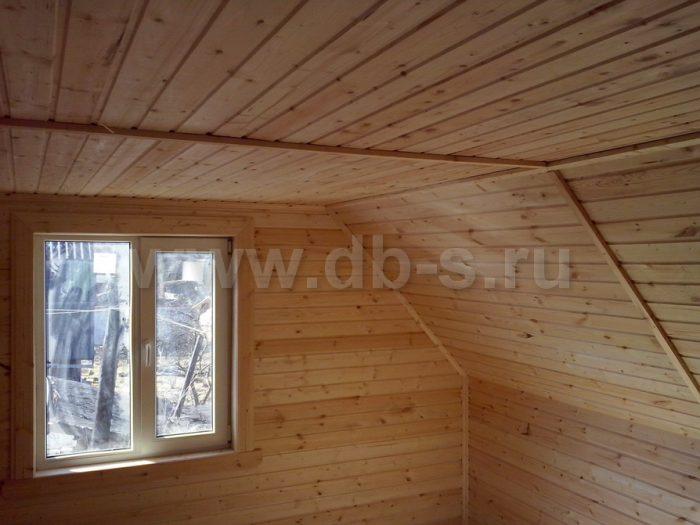 Строительство каркасного дома с мансардой 6 на 8 Апрелевка, Московская область фото 9