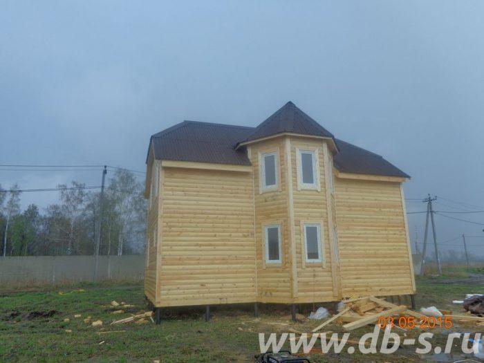 Строительство двухэтажного дома из бруса 8 на 9 Раменское, Московская область фото 2