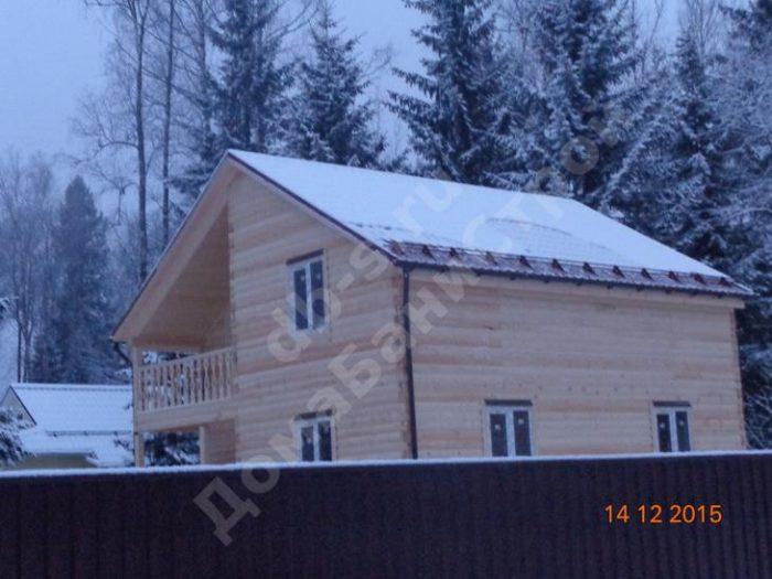 Строительство двухэтажного дома из бруса 8 на 8 Клин, Московская область фото 3