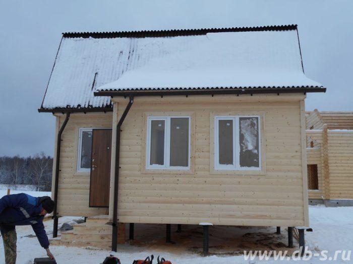 Строительство каркасного дома с мансардой 6 на 7.5 Истра, Московская область фото 2