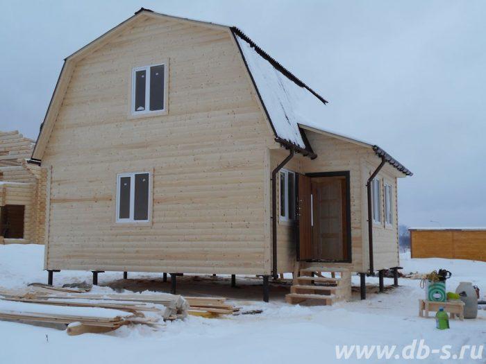 Строительство каркасного дома с мансардой 6 на 7.5 Истра, Московская область фото 3