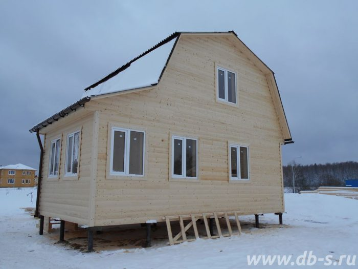Строительство каркасного дома с мансардой 6 на 7.5 Истра, Московская область фото 1