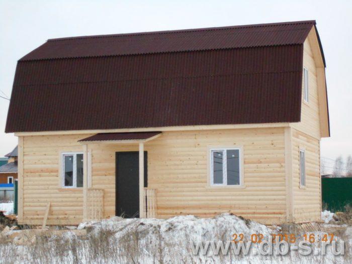 Строительство дома из бруса с мансардой 6 на 9 Павловский Посад, Московская область фото 2