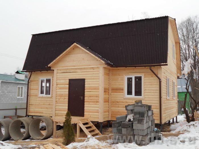 Строительство дома из бруса с мансардой 9 на 7 Ступино, Московская область фото 1