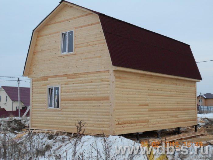 Строительство дома из бруса с мансардой 6 на 9 Павловский Посад, Московская область фото 3