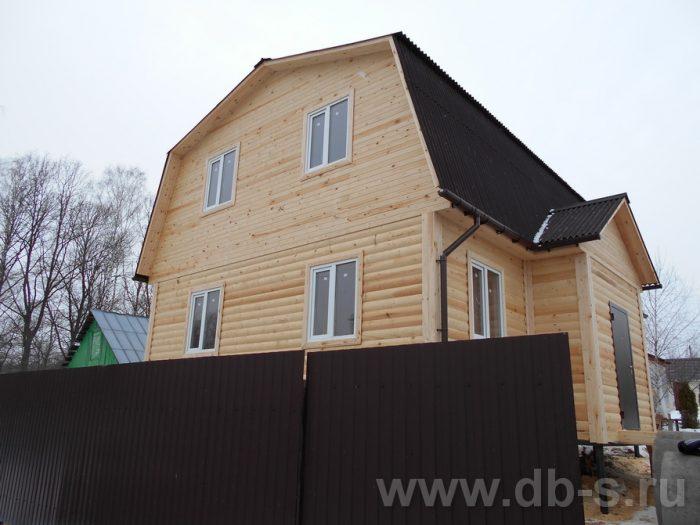 Строительство дома из бруса с мансардой 9 на 7 Ступино, Московская область фото 3