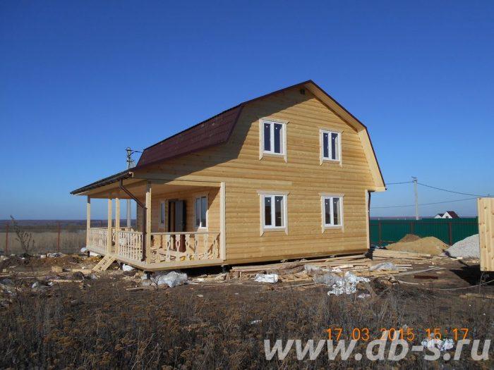 Строительство каркасного дома с мансардой 9 на 7 Ясногорск, Тульская область фото 1