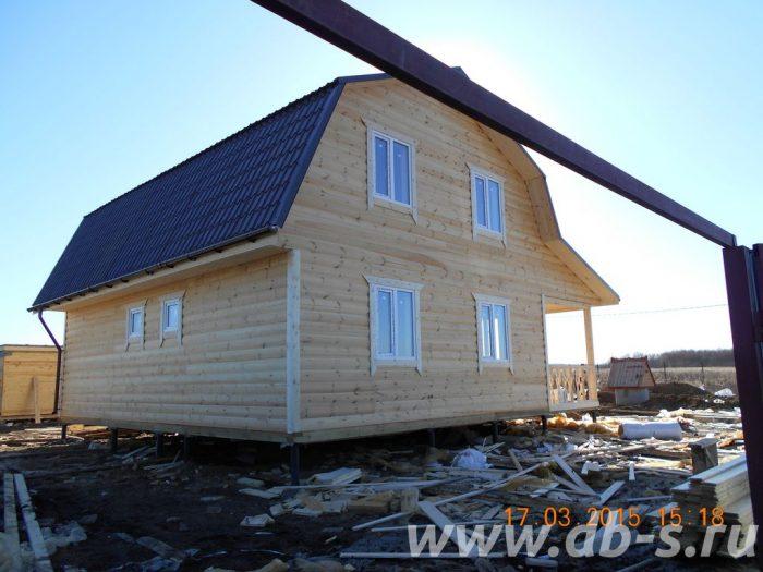 Строительство каркасного дома с мансардой 9 на 7 Ясногорск, Тульская область фото 2
