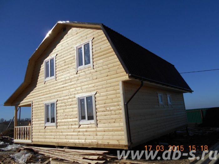 Строительство каркасного дома с мансардой 9 на 7 Ясногорск, Тульская область фото 3
