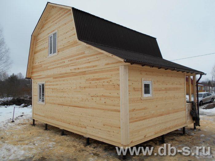 Строительство каркасного дома с мансардой 8 на 6 Щёлково, Московская область фото 2