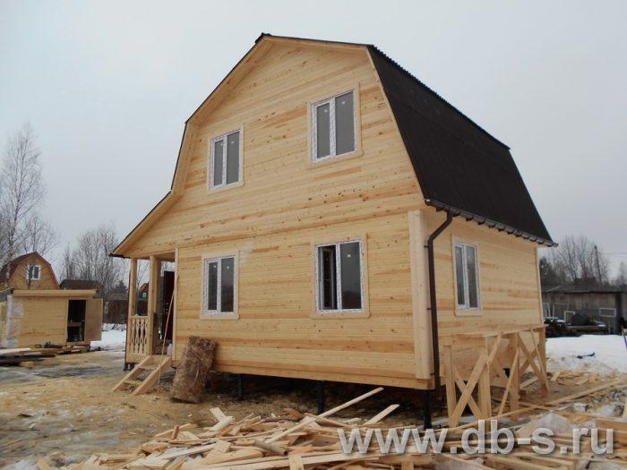 Строительство каркасного дома с мансардой 8 на 6 Щёлково, Московская область фото 1