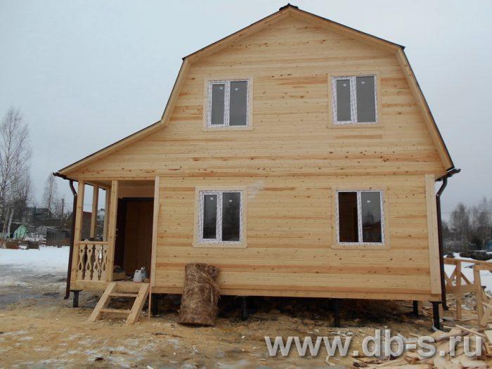 Строительство каркасного дома с мансардой 8 на 6 Щёлково, Московская область фото 3
