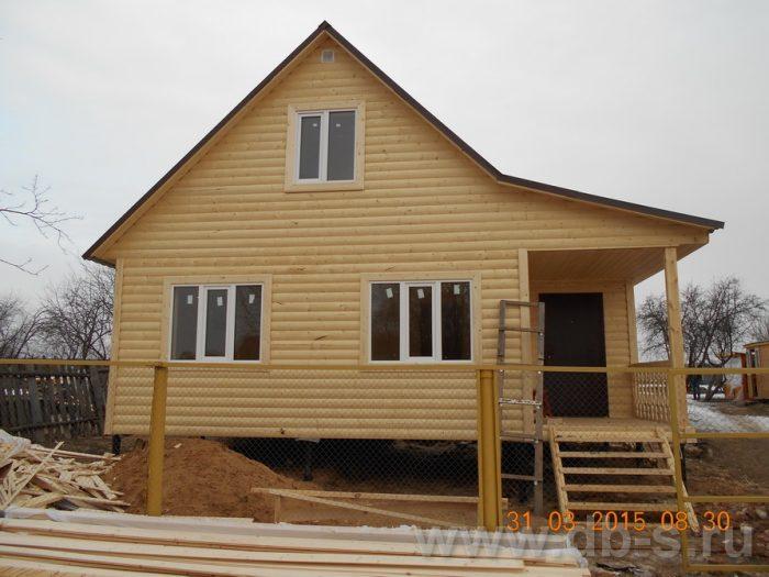 Строительство каркасного дома с мансардой 8 на 6 Шуя, Ивановская область фото 1