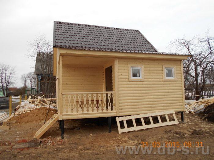 Строительство каркасного дома с мансардой 8 на 6 Шуя, Ивановская область фото 3